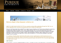 Purdue Italian Club Website